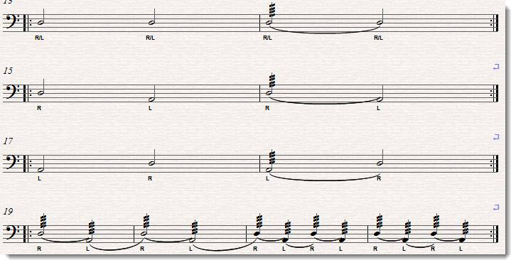 intermediate timpani roll warm up exercise