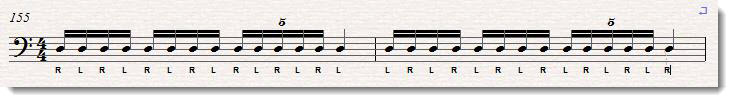 quintuplet drum roll exercise 2