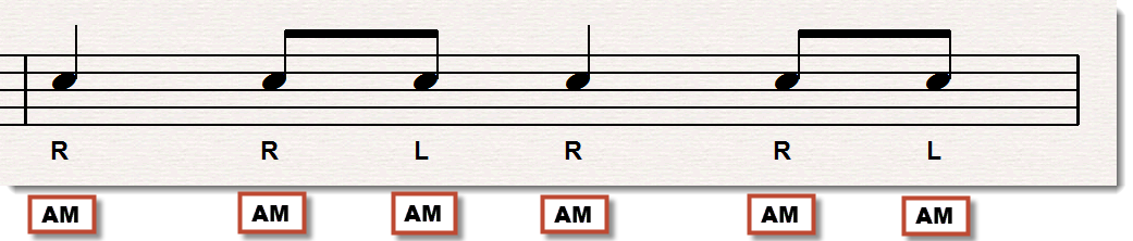 flam music notation 2