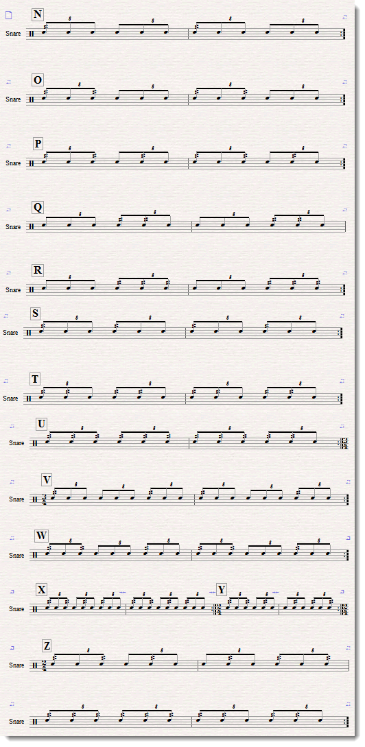 triplet base rhythm exercise 1