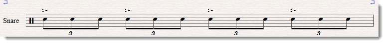 flam accent notation 2