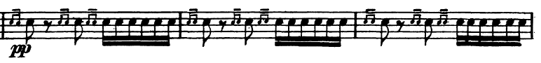 rimsky korsakov scheherazade paradiddle excerpt