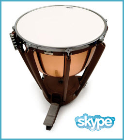 month of 30 minute percussion lessons
